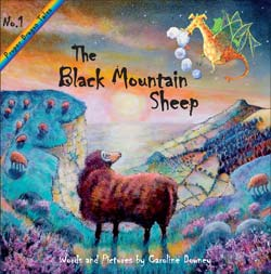 The Black Mountain Sheep by Caroline Downey